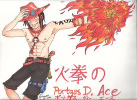Hiken no Ace by rose-star