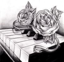 piano sketch by WillemXSM