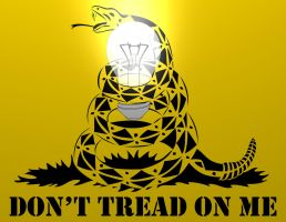 Don  t Tread on Me by BeRevolutionaryd by lavacano