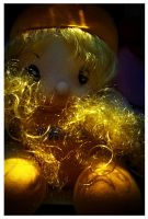 a golden doll by fotuzlab