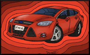 2012 Ford Focus by AgentC-24