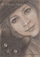 Friends (ACEO) - sketch by MayumiOgihara