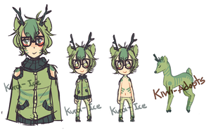 humanized deer thing by IOice