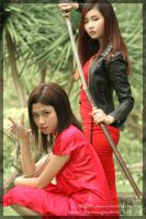 :Edjie and Crissey: by Crissey