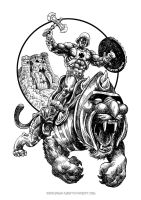 masters of the universe-he-man by gordosemola