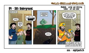 My Life Without A Jetpack Strip 64 by lordmagnusen