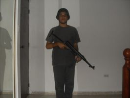 Me With MP40 by Crypto-137