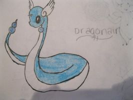 Dragonair by animeVampire-cat