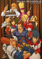 rival schools.... by DXSinfinite
