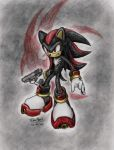 Shadow_the_hedgehog by nocturnalMoTH