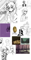 September Sketch/redditart dump 2014 by ChubbyCollections