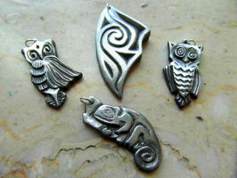 OWLS,CHAMALEON and SPLINTER by MassoGeppetto