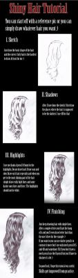 Shiny Hair Tutorial by vik-west