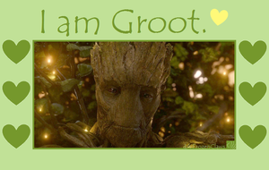 Valentines of the Galaxy: I am Groot by FrozenClaws
