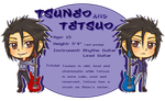 Shou's Chibi Band: Tsuneo and Tetsuo by BurningArtist