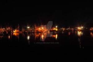Lights on the Harbor by jdesau
