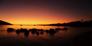 Oyster Bay Sunset by Niiiiemand