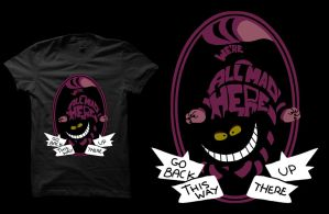 Cheshire T-shirt by Anlarel