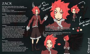 Yet another new Zack Ref Sheet by Bored-dood