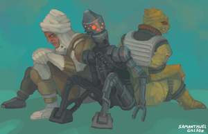 Bounty Hunters by brotoad