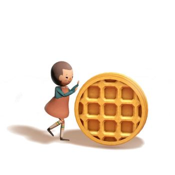 Eggo Damacy by msh