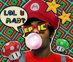 MARIO COSPLAY xD by Rijio