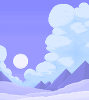 cloud with mountain by qmffnaowlr