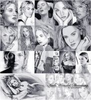Kate Winslet Drawings by riefra
