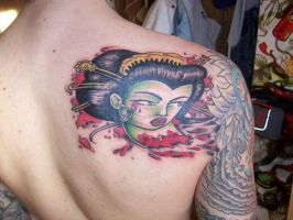Geisha in prog day after by ritch-g