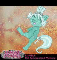 League of Ponies - Rumble by Luxianne