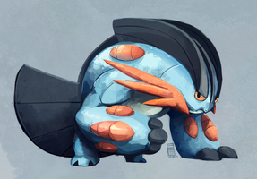 Mega Swampert by Stormful