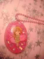 anime girl pendant by leggsXisXawsome