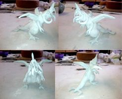 Monster Sculpture 1 by Slayer-of-Eternity