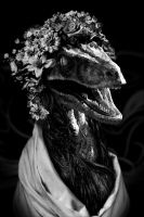 The Velociraptor princess by StenEV