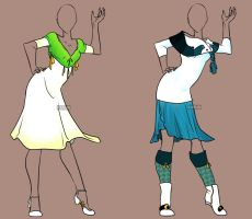 Fashion Adoptable Auction 43 - CLOSED by Karijn-s-Basement