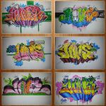 Graffiti Collage 5 by tobseNN