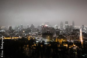 Montreal Winter Night by K-liss