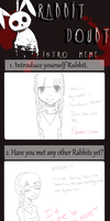 Naomi's Intro RabbitDoubt by yukicaster