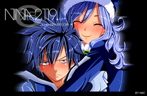 Cover FT-tome-51 Gruvia Week by nina2119