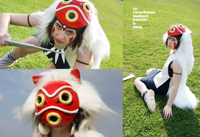 Princess Mononoke Cosplay by Wilkoak