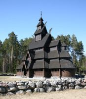 Wooden Church - 1 by mjranum-stock