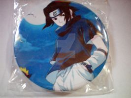 Naruto Sasuke 3-Inch Buttons For Sale by Shad0wKillr