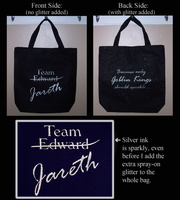 Team Jareth  Purse Grocery Bag by TheCopperDragon2004