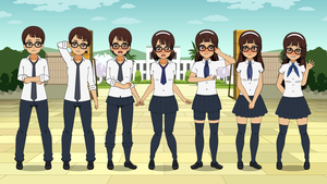 New School Uniform : TG Sequence by eppuzoha