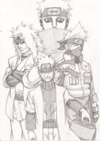 Fan art: Naruto Shippuden by dowaru