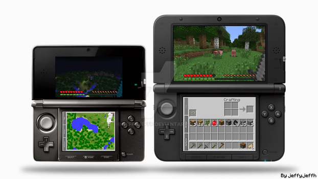 Minecraft for 3DS by Jeffyjeffp