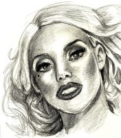 Lady Gaga by blindthistle