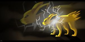 .:Jolteon:. by Girryy