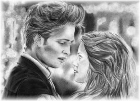 Twilight - Edward and Bella 2 by Eileen9