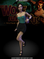 Faith - The Wolf Among Us by JhonyHebert